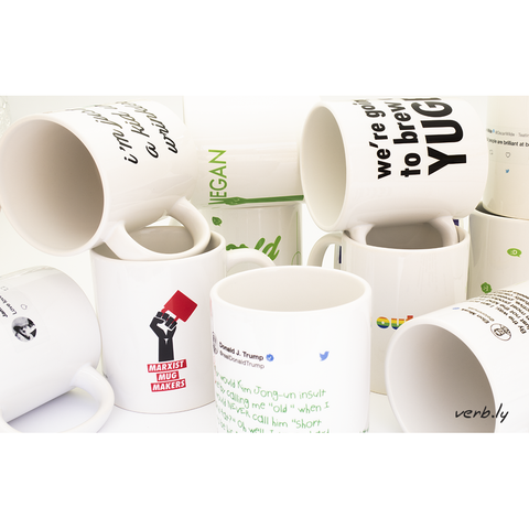 My Favourite Conversation Piece Each Month,mugs - verb.ly