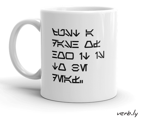 Star Wars Deaf Mug,mug - verb.ly