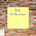 Giant Post-it Note Canvas,Canvas Print - verb.ly