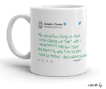 Donald Trump Toddler Tweet Mug, - verb.ly