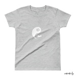 Yin Yang Cat Ladies' T-shirt,t-shirt - verb.ly