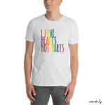 Love Hearts Not Parts – Unisex T-Shirt,t-shirt - verb.ly