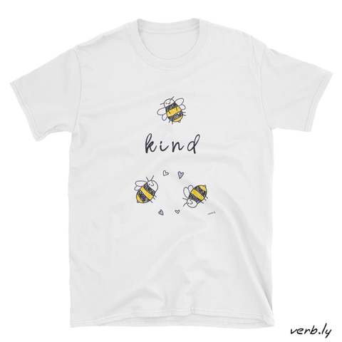 Bee Kind 2 Bees – Unisex T-Shirt,t-shirt - verb.ly