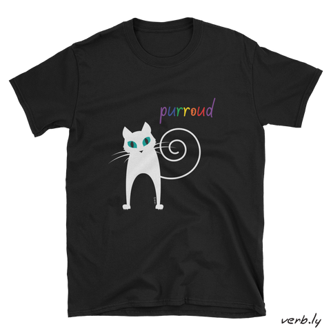 Purroud Unisex T-Shirt,t-shirt - verb.ly
