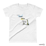 Scooter – Ladies' T-shirt,t-shirt - verb.ly