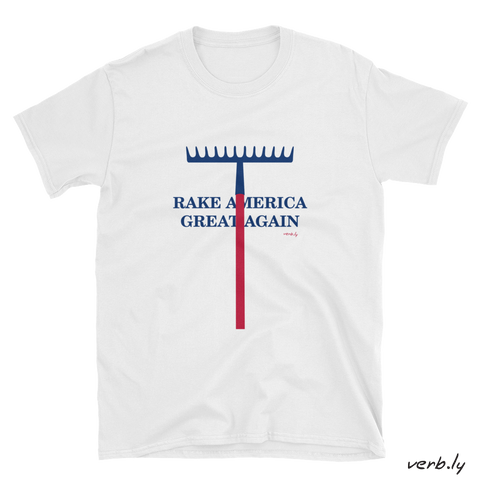 Rake America Great Again T-Shirt,t-shirt - verb.ly