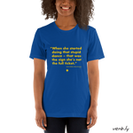 Stupid Dance, Unisex T-Shirt,t-shirt - verb.ly