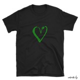 Vegan Heart, Unisex T-Shirt,t-shirt - verb.ly