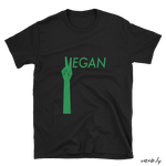 Vegan-Tshirt-Vegan Peace – Unisex T-Shirt-www.verb.ly