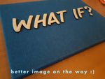 What if?,canvas art - verb.ly