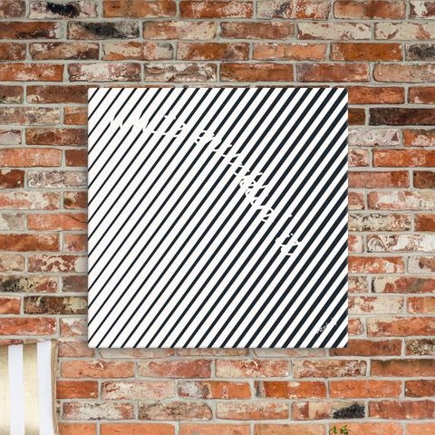 White Knucklin' It,Canvas Print - verb.ly