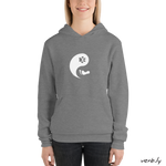 Yin-yang cat, unisex hoodie,hoodies - verb.ly