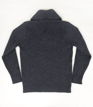 The Spencer (Charcoal) - Ross Barr - Designer British Men's Knitwear