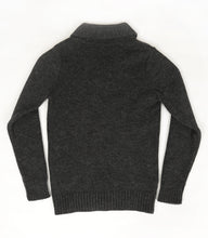 The Hoyland (Charcoal) - Ross Barr - Designer British Men's Knitwear