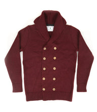 The Spencer (Claret) - Ross Barr - Designer British Men's Knitwear