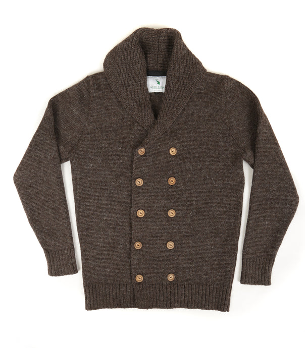 The Spencer (Bark) - Ross Barr - Designer British Men's Knitwear