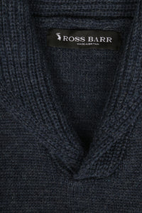 The Hoyland (Denim) - Ross Barr - Designer British Men's Knitwear