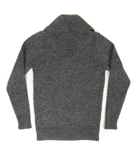 The Spencer (Anthracite) - Ross Barr - Designer British Men's Knitwear