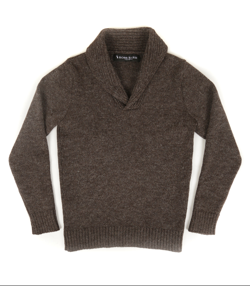 The Hoyland (Bark) - Ross Barr - Designer British Men's Knitwear