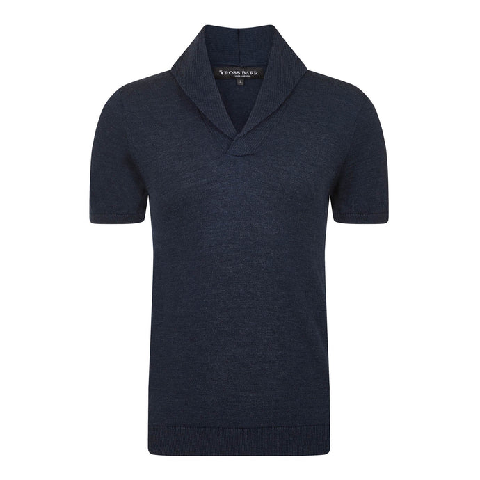 The Elliot (Denim) - Ross Barr - Designer British Men's Knitwear