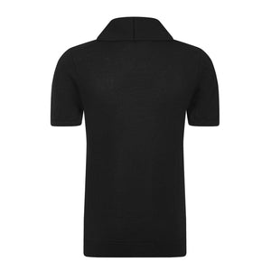 The Elliot (Black) - Ross Barr - Designer British Men's Knitwear
