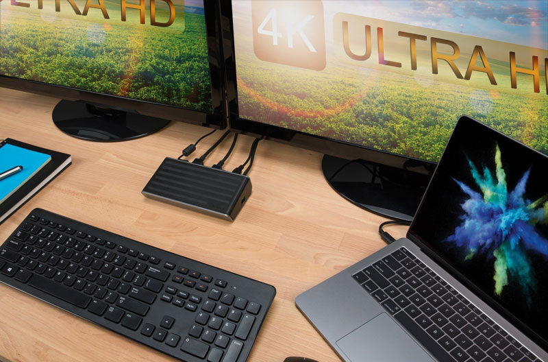 4k docking station for laptop