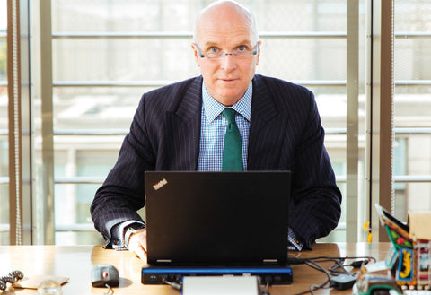 John Henderson works on the county council