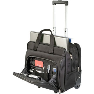 four wheel travel suitcase
