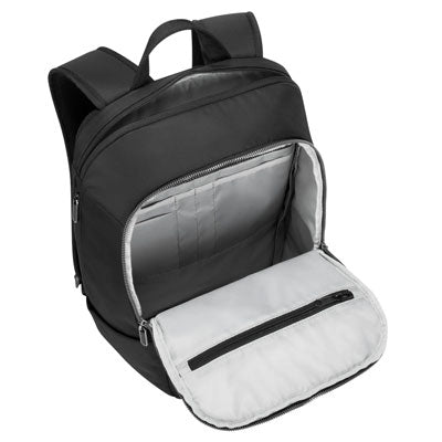 View of the inside of the Urban Expandable Backpack from Targus