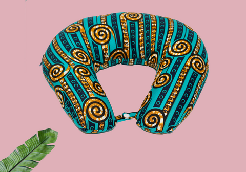 Ankara Neck pillow