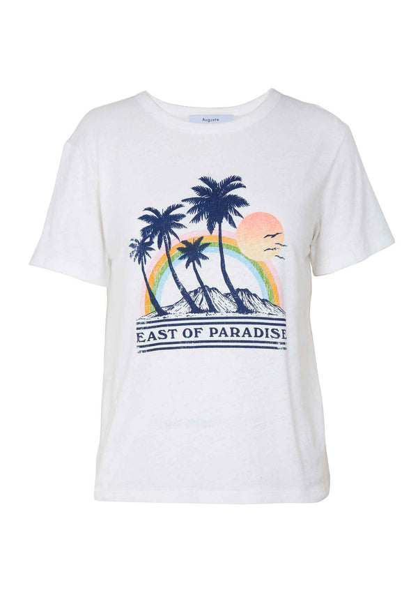 East of Paradise T-Shirt Off White