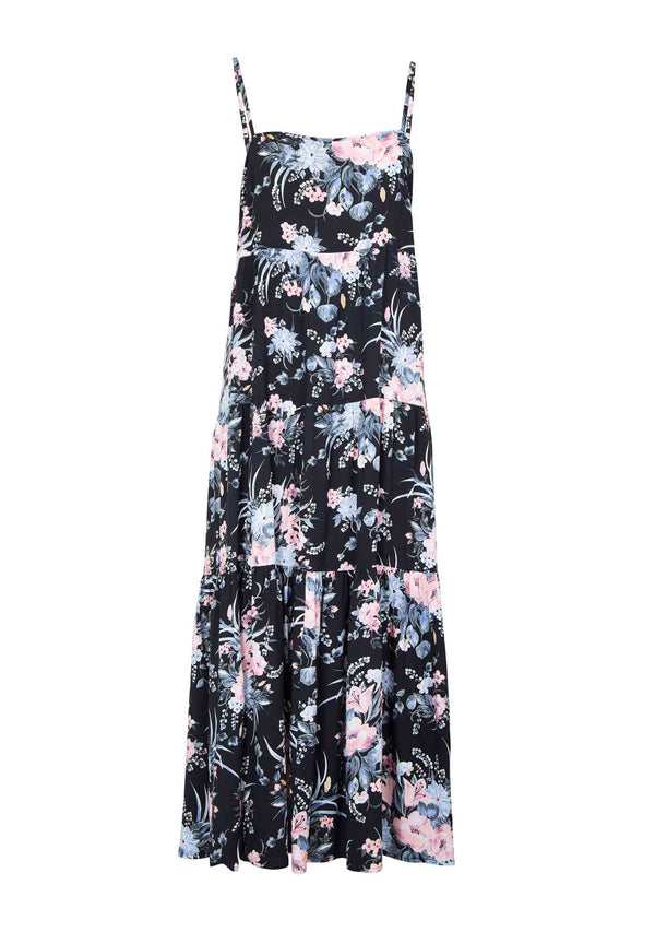 Scarlett Slip Maxi Dress Black