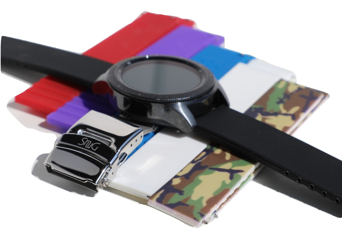 SnuG watchbands ULTIMATE Samsung Galaxy Watch Combo Pack