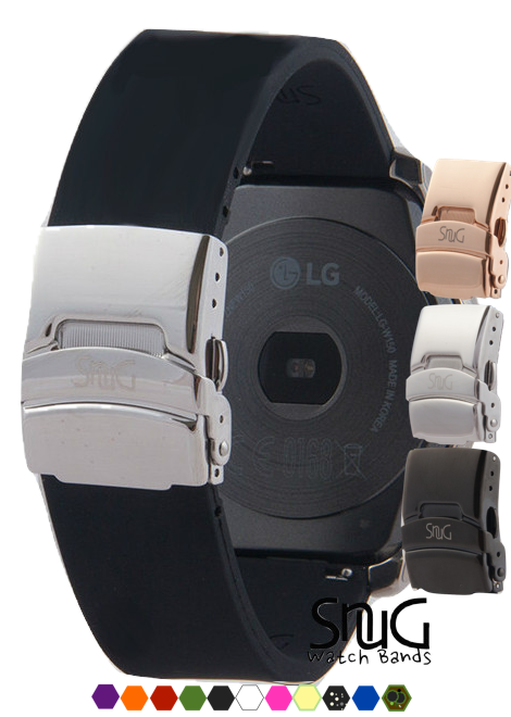 LG WATCH, LG Urbane, and LG WATCH R 22mm SnuG watchband