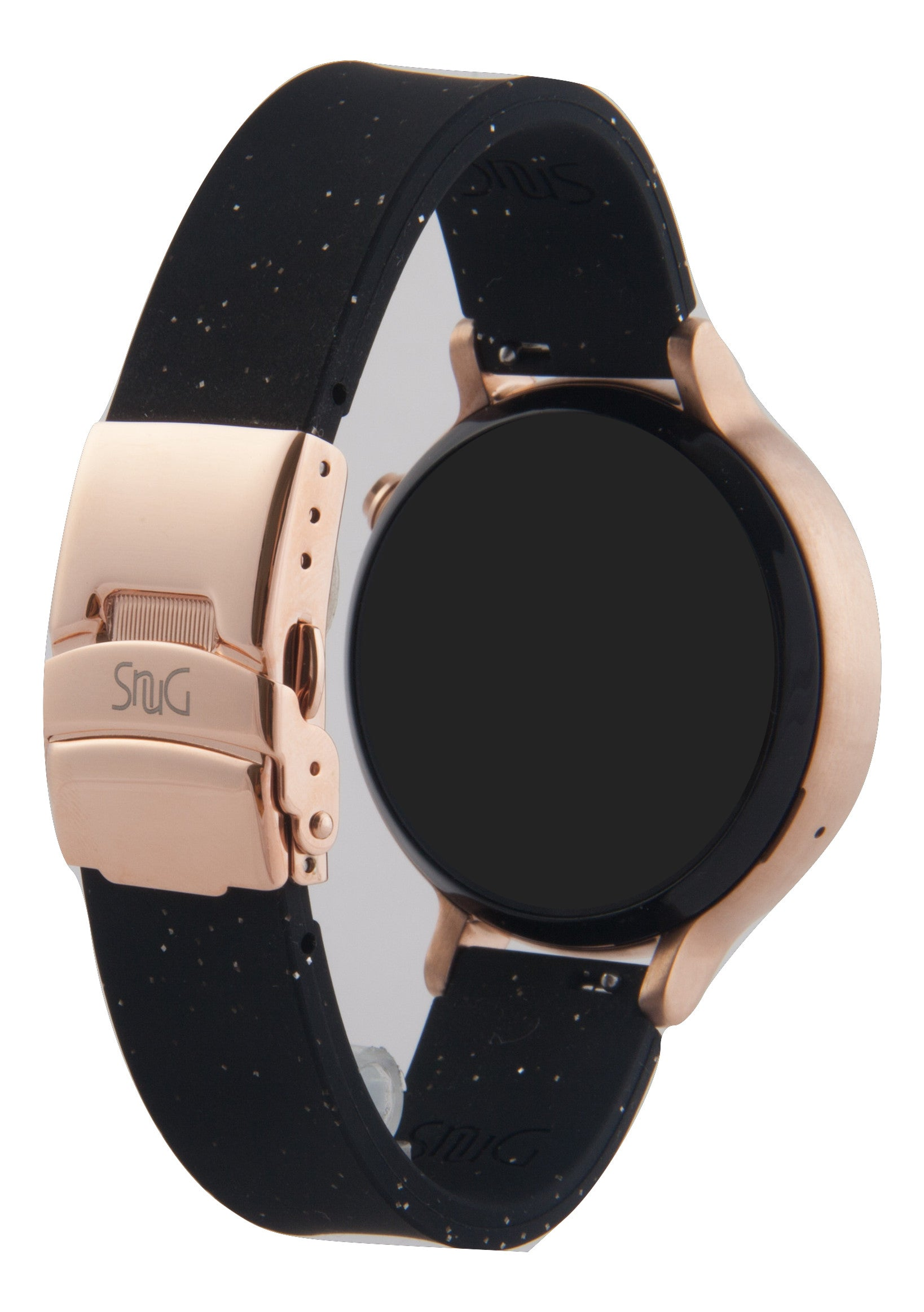 Mens smaller 42mm Moto 360 SnuG 20mm watchband with Bonus Free matching bumper case