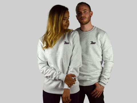 Crewneck White Heather - CLASSIC