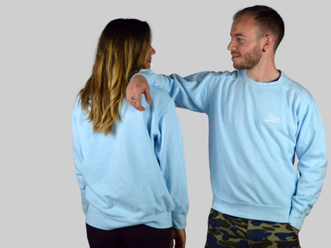 Crewneck Pastel Blue - COLORS