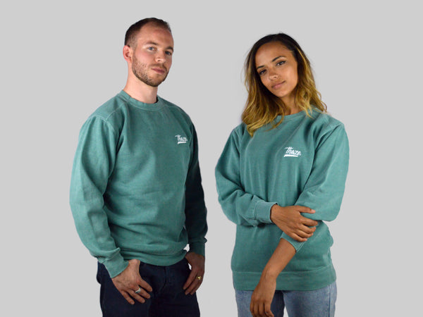 Crewneck Old Green - COLORS