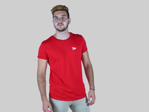 T-shirt Red - Homme