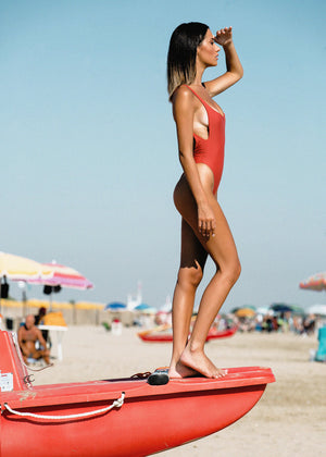 Load image into Gallery viewer, FORMENTERA ONE PIECE - Terracotta