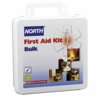 Honeywell North 019704-0003L,  First Aid Kits, 50 Person Bulk, Plastic
