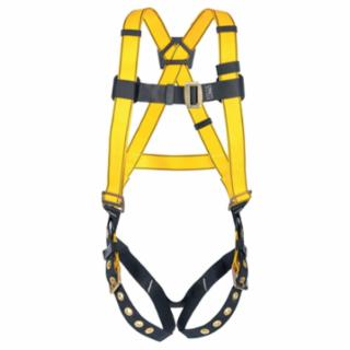 MSA 10072487  Workman Harnesses, D-Ring Back,Qwik-Fit Chest Strap;Tongue Buckle Legs, Standard
