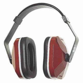 E-A-R Muffs, 20 dB NRR, Maroon, Wear Over Head, Behind Neck, Under Chin