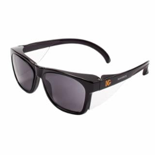 Kimberly Clark P/N 49311 KLEENGUARD MAVERICK Safety Glasses, Smoke Anti-fog Lens, Black Frame, Case of 12