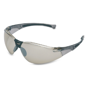 Honeywell UVEX A804 Safety Eyewear, Hard Coat Anti-Scratch, I/O Silver Mirror Lens, Gray Frame (bulk pricing available)