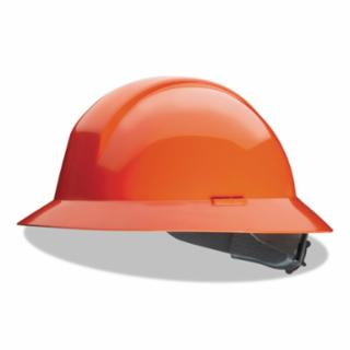 Honeywell North, Everest Hard Hats, 6 Point, Full Brim, Orange A49R030000