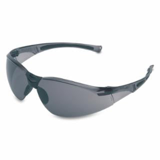 Honeywell UVEX A801 Safety Eyewear, Gray Lens, Polycarbonate, Hard Coat, Gray Frame (bulk pricing available)