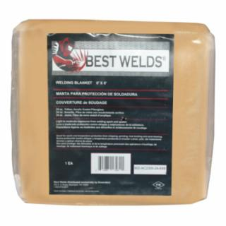 Best Welds AC2300-24-6X6 Welding Blanket , Fiberglass, Yellow