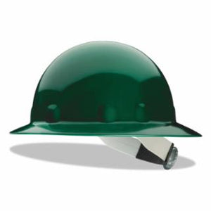Fiber-Metal  SuperEight Hard Hats, 8 Point Ratchet, Green, E1RW74A000