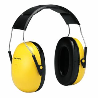 3M Peltor H9A  Optime 98 Earmuffs, 25 dB NRR, Yellow, Over the Head